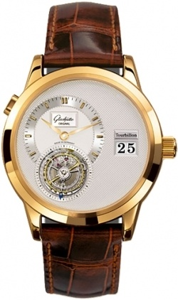 Glashutte Original Art & Technik PanoMaticTourbillon  Men's Watch 93-01-01-01-04