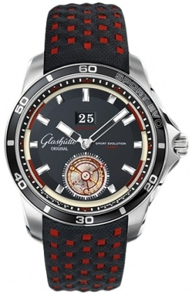 Glashutte Original Sport Evolution Impact Tourbillon  Men's Watch 94-01-03-03-03