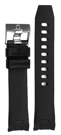 Omega Rubber 20mm Seamaster Planet Ocean Men's Strap 98000144