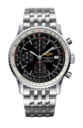 Breitling Navitimer Heritage Black Dial Stainless Steel Men's Watch A1332412/BF27-451A