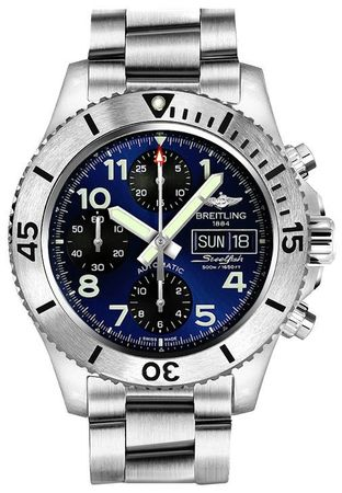 Breitling Superocean Chronograph Steelfish 44  Men's Watch A13341C3/C893-162A