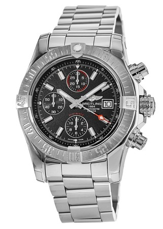 Breitling Avenger Avenger II Chronograph Black Dial Men's Watch A1338111/BC32-170A