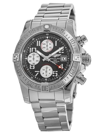 Breitling Avenger Avenger II Chronograph Grey Dial Steel Men's Watch A1338111/F564-170A