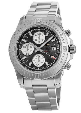 Breitling Colt Chronograph Automatic Black Dial Stainless Steel Men's Watch A1338811/BD83-173A