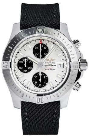 Breitling Colt Chronograph Automatic Silver Dial Men's Watch A1338811/G804-103W