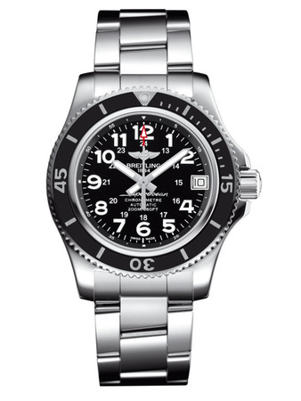 Breitling Superocean II 36 Volcano Black Dial Stainless Steel Unisex Watch A17312C9/BD91-179A