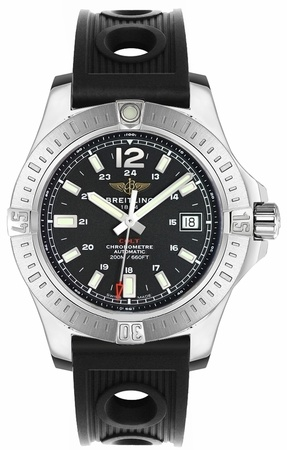 Breitling Colt 41 Automatic Black Dial Men's Watch A1731311/BE90-202S