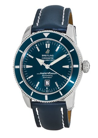 Breitling Superocean Heritage 46 Blue Dial Calf Leather Strap Men's Watch A1732016/C734-101X