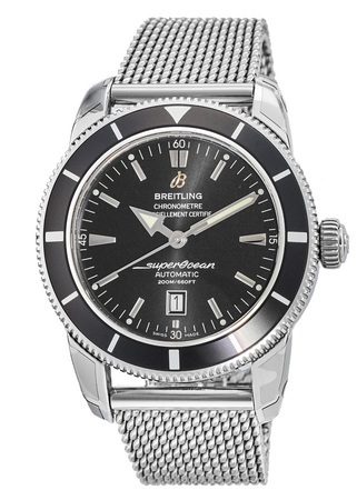 Breitling Superocean Heritage 46 Black Dial Stainless Steel Men's Watch A1732024/B868-152A
