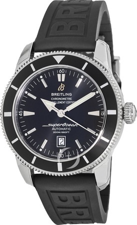 Breitling Superocean Heritage 46 Black on Rubber Men's Watch A1732024/B868-155S