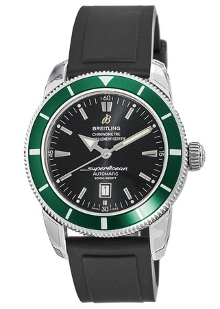 Breitling Superocean Heritage 46 Green Bezel Limited Edition Men's Watch A17320Q5/B868-137s