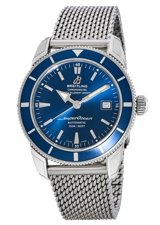 Breitling Superocean Heritage 42 Blue Dial Men's Watch A1732116/C832-154A