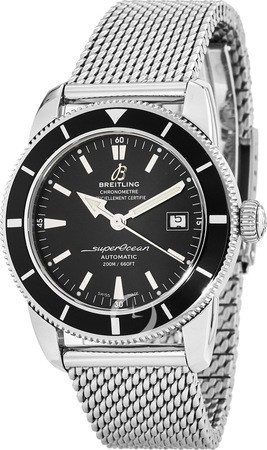 Breitling Superocean Heritage 42 Automatic Black Men's Watch A1732124/BA61-154A
