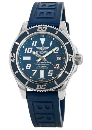 Breitling Superocean 42 Limited Edition Blue Dial & Strap Men's Watch A173643B/C868-148S