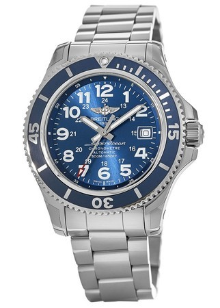 Breitling Superocean II 42 Mariner Blue Dial Stainless Steel A17365D11C1A1 Men's Watch A17365D1/C915-161A