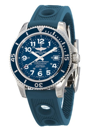 Breitling Superocean II 42 Blue Ocean Racer Rubber Strap Men's Watch A17365D1/C915-203S