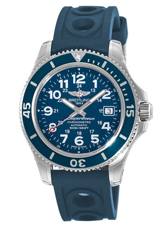 Breitling Superocean II 42 Ocean Racer Rubber Strap Men's Watch A17365D1/C915-229S