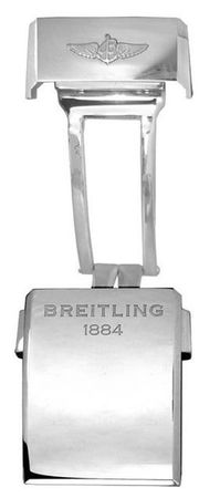 Breitling Steel 18mm Deployment Men's Buckle A18D.2