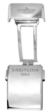 Breitling Steel 20mm Deployment Men's Buckle A20D.2
