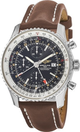 Breitling Navitimer World GMT Chronograph Men's Watch A2432212/B726-439X