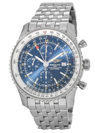 Breitling Navitimer World GMT Chronograph Men's Watch A2432212/C561-443A