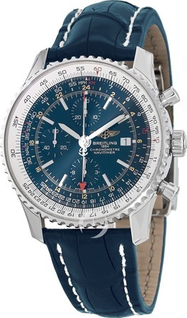 Breitling Navitimer World GMT Chronograph Men's Watch A2432212/C651-746P