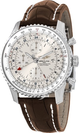 Breitling Navitimer World GMT Chronograph Men's Watch A2432212/G571-757P