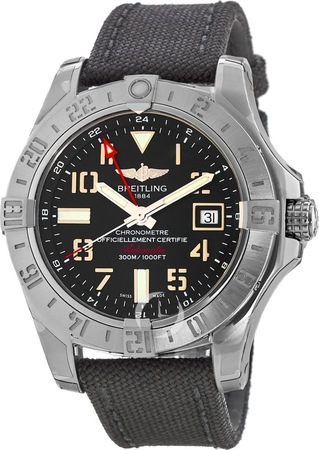 Breitling Avenger II GMT  Men's Watch A3239011/BC34-103W