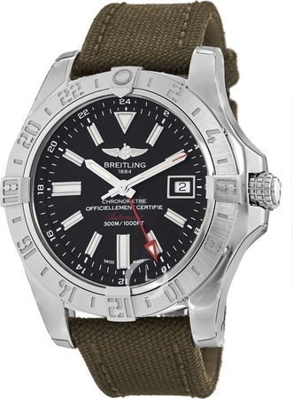 Breitling Avenger II GMT  Men's Watch A3239011/BC35-106W