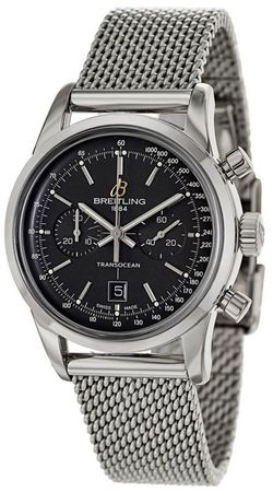 Breitling Transocean Chronograph 38  Men's Watch A4131012/BC06-171A