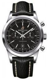 Breitling Transocean Chronograph 38  Men's Watch A4131012/BC06-218X