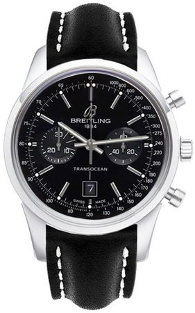Breitling Transocean Chronograph 38  Men's Watch A4131012/BC06-428X