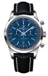 Breitling Transocean Chronograph 38  Men's Watch A4131012/C862-220X