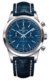 Breitling Transocean Chronograph 38  Men's Watch A4131012/C862-719P