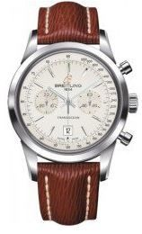 Breitling Transocean Chronograph 38  Men's Watch A4131012/G757-221X