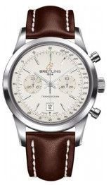 Breitling Transocean Chronograph 38  Men's Watch A4131012/G757-431X