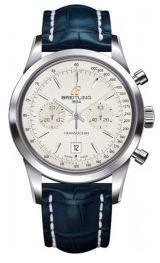 Breitling Transocean Chronograph 38  Men's Watch A4131012/G757-719P