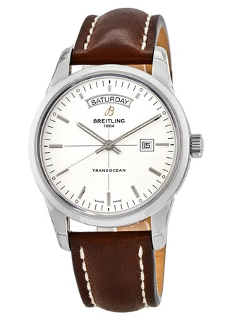 Breitling Transocean Day Date Automatic Men's Watch A4531012/G751-BRLSD