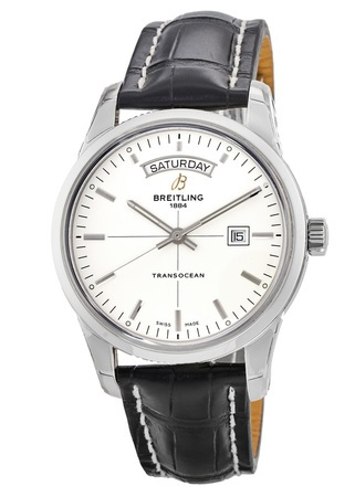 Breitling Transocean Day Date Automatic Men's Watch A4531012/G751-CROCD