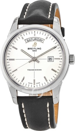 Breitling Transocean Day Date Automatic Men's Watch A4531012/G751-LST