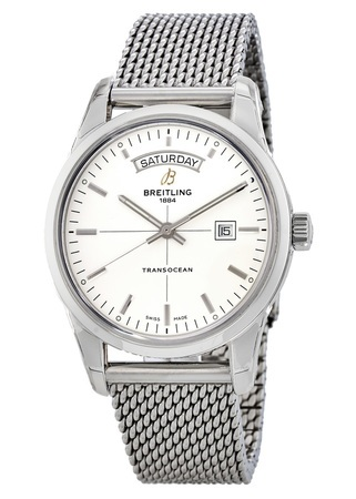 Breitling Transocean Day Date Automatic Men's Watch A4531012/G751-SS