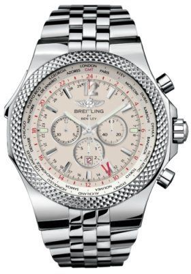 Breitling Bentley GMT  Men's Watch A4736212/G657-SS