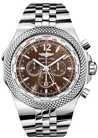 Breitling Bentley GMT  Men's Watch A4736212/Q554-998A