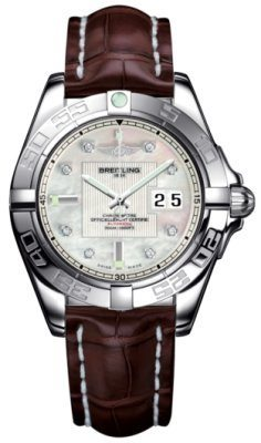 Breitling Galactic 41  Men's Watch A49350L2/A702-CROCD