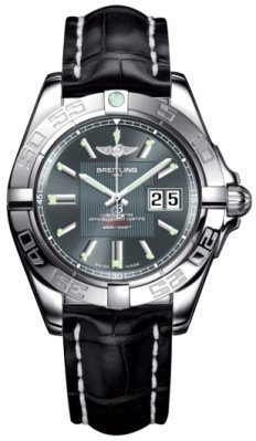 Breitling Galactic 41  Men's Watch A49350L2/F549-CROCD