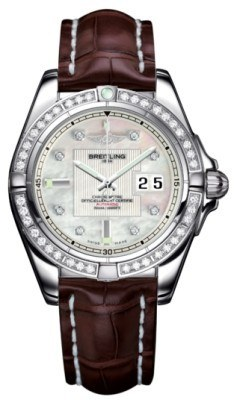 Breitling Galactic 41  Men's Watch A49350LA/A702-CROCD