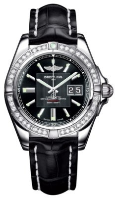 Breitling Galactic 41  Men's Watch A49350LA/BA07-CROCD