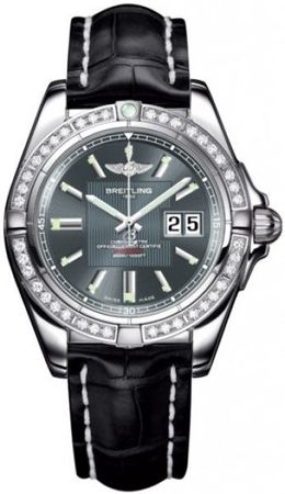 Breitling Galactic 41  Men's Watch A49350LA/F549-CROCD