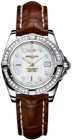 Breitling Galactic 32  Women's Watch A71356LA/A708-CROCD