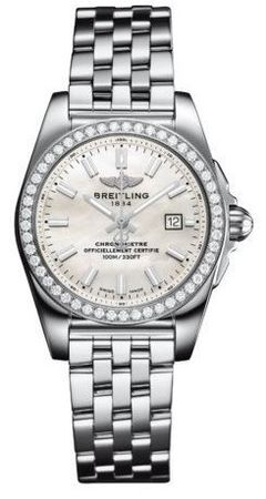 Breitling Galactic 29  Women's Watch A7234853/A784-791A